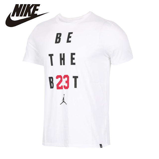 ef6b1d3122b6 NIKE Jordan Original New Arrival Mens T-shirt Quick Dry Short Sleeve  Comfortable For Men