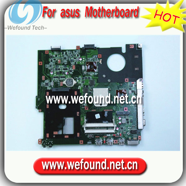 ФОТО 100% Working Laptop Motherboard for asus F50Z x61z Series Mainboard,System Board