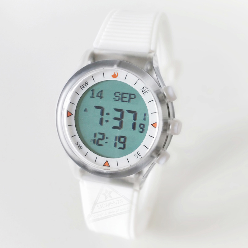 Qibla Watch with Alfajr Time and Azan Pray Alarm for All Russian France Netherland Muslim Prayer Waterproof 6506 WY-16