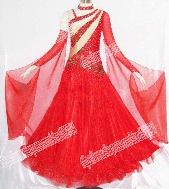 Новые Бальные Танцевальные костюмы сексуальные спандекс камни бальных танцев платье для женщин бальных танцев конкуренции платья Танцы платье