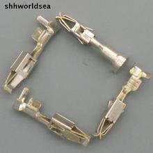 Shhworld Sea 20 шт 3,5 мм Женская ОБЖИМНАЯ Клеммная вилка для автомобиля, автомобильные клеммы для VW BMW Audi Toyota мотоцикл и т. Д