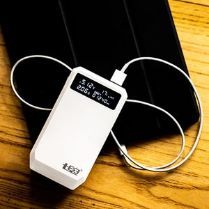 Image 2 - Cargador rápido para teléfono móvil y tableta PC, soporte USB Dual QC 3,0 + tipo C PD salida 3x18650 baterías DIY Power Bank Box funda,