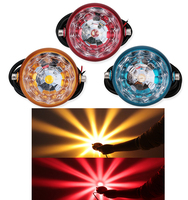 1Pcs Car Motorcycle Fog Lights Flasher Led Chassis Light Decorative Lights License Plate Led Motorbike Tail