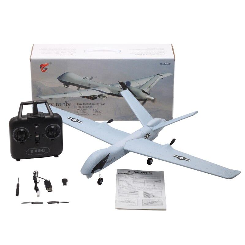 Avion RC 20 Minutes temps de vol planeur jouet avion avec LED 2.4G télécommande main lancer envergure enfants RC Jet avion mousse 6