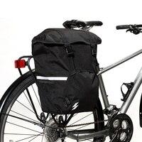 Hot Sale Bicycle Carrier Bags Bike Trunk Bag Cycling Bag Side Rack Tail Seat Bike Storage Multifunction Road Bike Pannier 15L