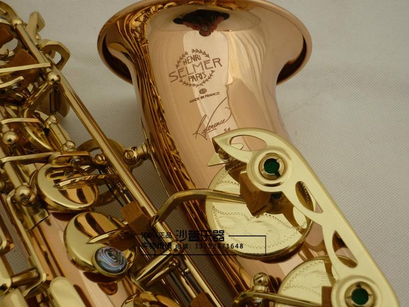 Alto Saxophone Genuine France Selmer 54 Phosphor Bronze Copper Alto Saxophone Professional E flat Sax  Professional performance selmer of france b flat tenor sax instruments shipping professional performance suitable for beginners