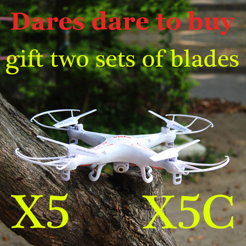 High-quality 100% New Original X5C 4CH 2.4G RC Remote Control Quadcopter Eversion Aircraft with 2.0M Pixels HD Camera Toys