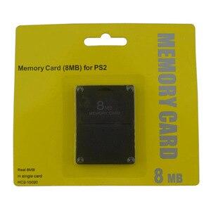 Image 3 - Xunbeifang 10 pcs 많은 8 16 32 64 ps2 용 소니 용 128 mb 메모리 카드
