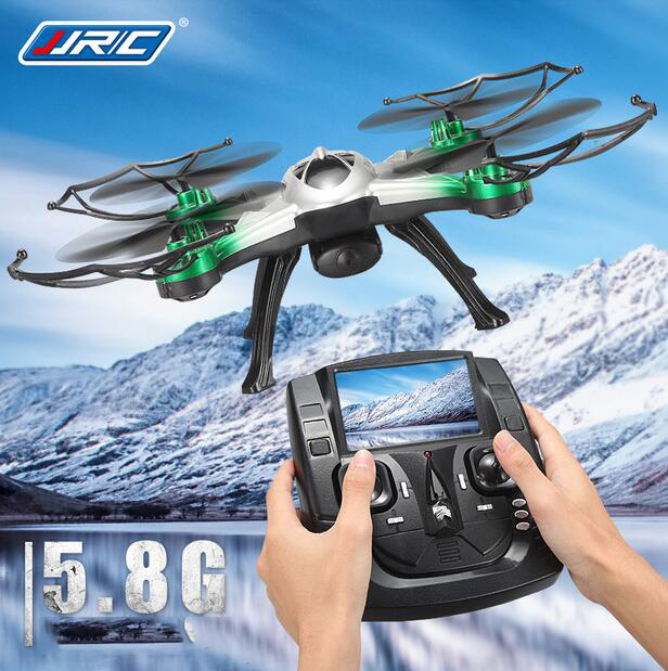 JJRC H29 5.8G WIFI FPV Professional Drone W/ 2MP Camera headless mode drone onekey Auto Return+Hold height flying camera copter