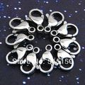 Lot of 100pcs 22mm 316L Stainless Steel Big Lobster Clasp Hook Fashion Jewelry Accessories Chain Necklace Findings