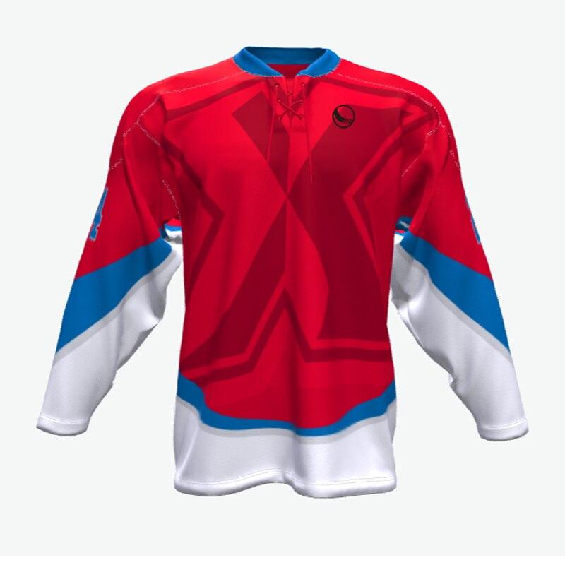 41023b0975e Hot Sale Custom Ice hockey jerseys fashion sublimated Top Quality ...