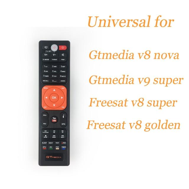 Hot freesat update Gtmedia v8 nova remote control, Satellite tv receiver's remote control for gtmedia v8 nova freesat v8 super
