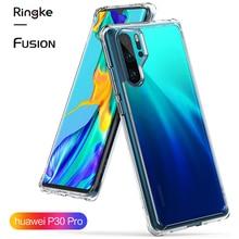 Ringke 融合ケース Huawei 社 P30 プロ柔軟な Tpu とクリアハード裏表紙ハイブリッドケース