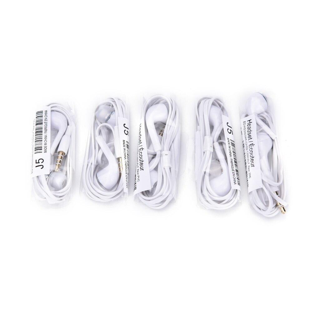 5 шт. наушники-вкладыши 3.3FT проводные наушники с микрофоном шумоподавление Гарнитура для Xiaomi/iPhone/samsung Mp3/Mp4