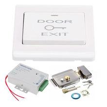 Электрический замок управления Электронный магнитный дверной замок для 12 В DC система контроля доступа видеодомофон дверная телефонная система