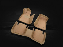 Car Floor Mats For Hyundai TUCSON 2005-2014 Foot Carpets Step Mat High Quality New Water Proof leather Wire coil 2 Layer