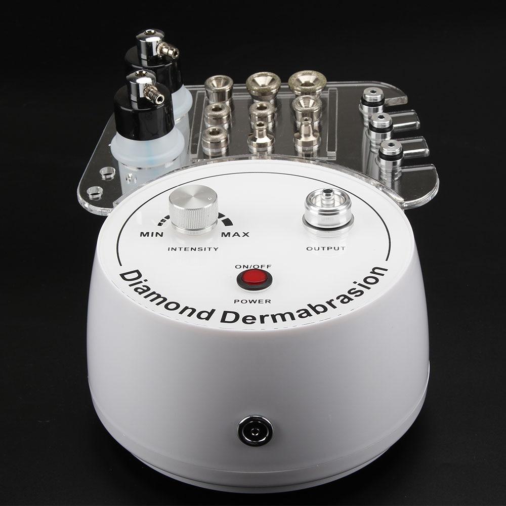 Multi-functional 3 In 1 Microdermabrasion Machine Diamond Dermabrasion