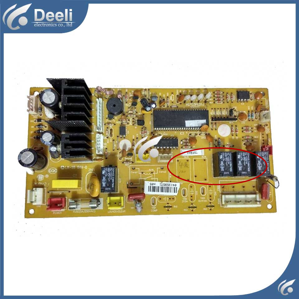 95% new Original for Hualing air conditioning Computer board HLFG3PL01J PC board original for tcl air conditioning computer board used board