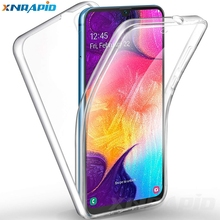 360-degree TPU case is suitable for xiao mi Redmi 7 full-body soft transparent silicone cover, front and rear protection