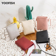 Hot sale mobile phone bag womens single shoulder fashion mini zero wallet crossbody XZ-122.
