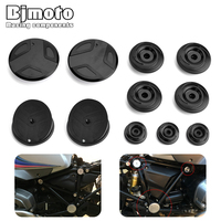 Motorbike R 1200GS LC Aluminum Frame Hole Decoration Plugs Cover Caps For BMW Adventure ADV R1200GS 2014 2018 R1200RT 2014 2017