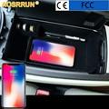 Мобильный телефон Беспроводная зарядка Средний магазин содержание коробка автомобильные аксессуары для Mercedes Benz c-класс W205 C200 C300 GLC