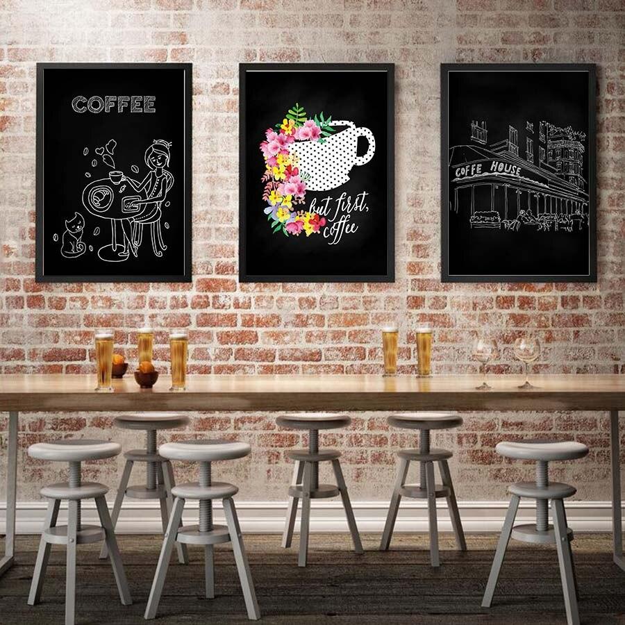 картинки в кафе на стену лишь