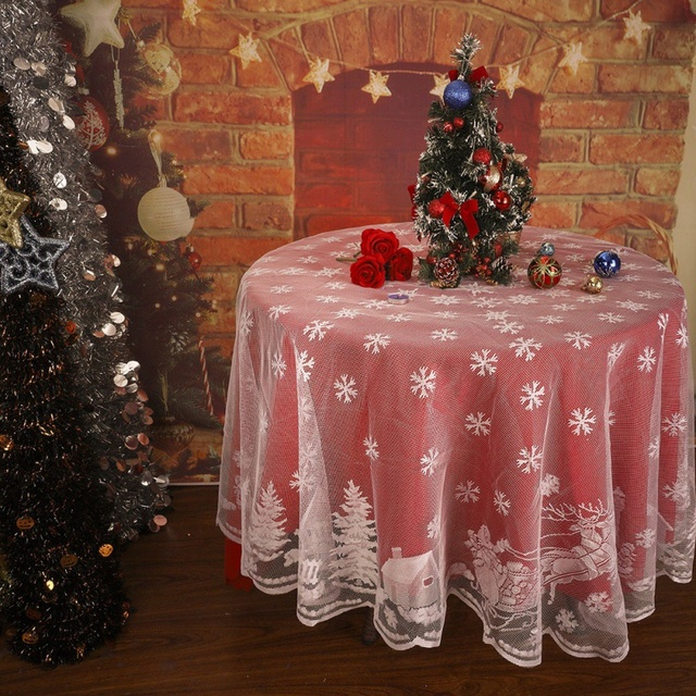 Snowflake Wedding Table Covers 7 11 Internist Dr Horn De