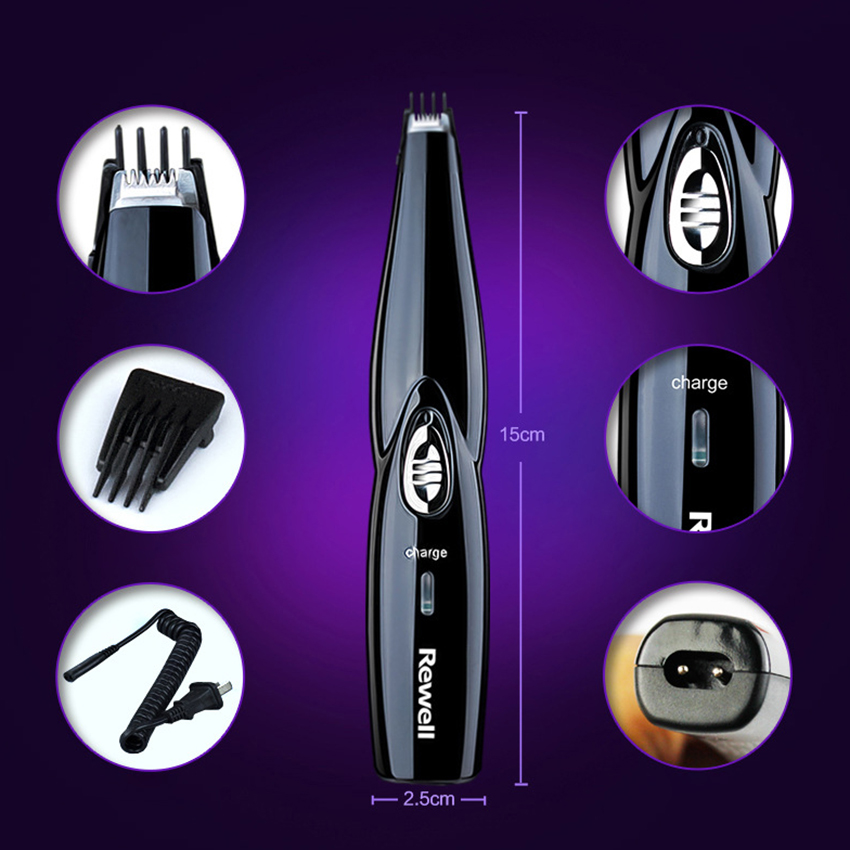 High Quality Rewell Hair Clipper Rechargeable Hairdressing Carving Hair Trimmer For Hairdresser Electric Haircut Shaving Cutter