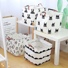 33x33cm Folding Laundry Basket Storage Barrel Standing Toys Clothing Bucket Organizer Holder Pouch Household