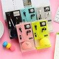 Deportes Auriculares In-Ear Estéreo Bajo Belleza Caramelo de Color con el mic Para la Computadora Del Teléfono Móvil Mp3/4/5