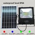 50 Вт/100 Вт светодиодный уличный Солнечный свет с дистанционным управлением Солнечная лампа водонепроницаемый IP66 энергосберегающий свет Пр...