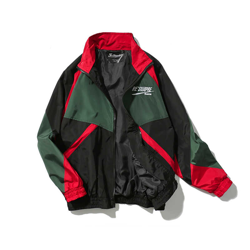 Hip Hop Jacke Windjacke Männer/Frauen Harajuku Jacke Mantel Retro Vintage Casual Jacke Streetwear 2019 Herbst übergroße Jacke