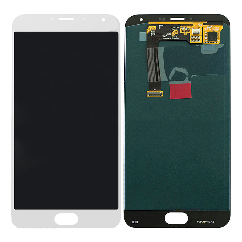 White LCD Display + Touch Screen Digitizer Assembly Replacements For 5.5 Meizu MX5 MX 5 Free Shipping
