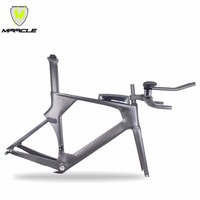 MIRACLE 2020 time trail Carbon Frame carbon TT bike frame include frame fork headset seatpost clamp stem TT bar ATTK Box