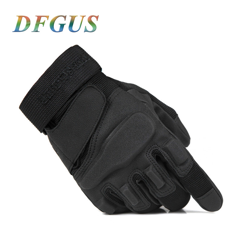 DFGUS Hot Hell Storm Usa Special Forces Tactical Gloves Military Slip Outdoor Firghting Men Full Finger Army Gloves