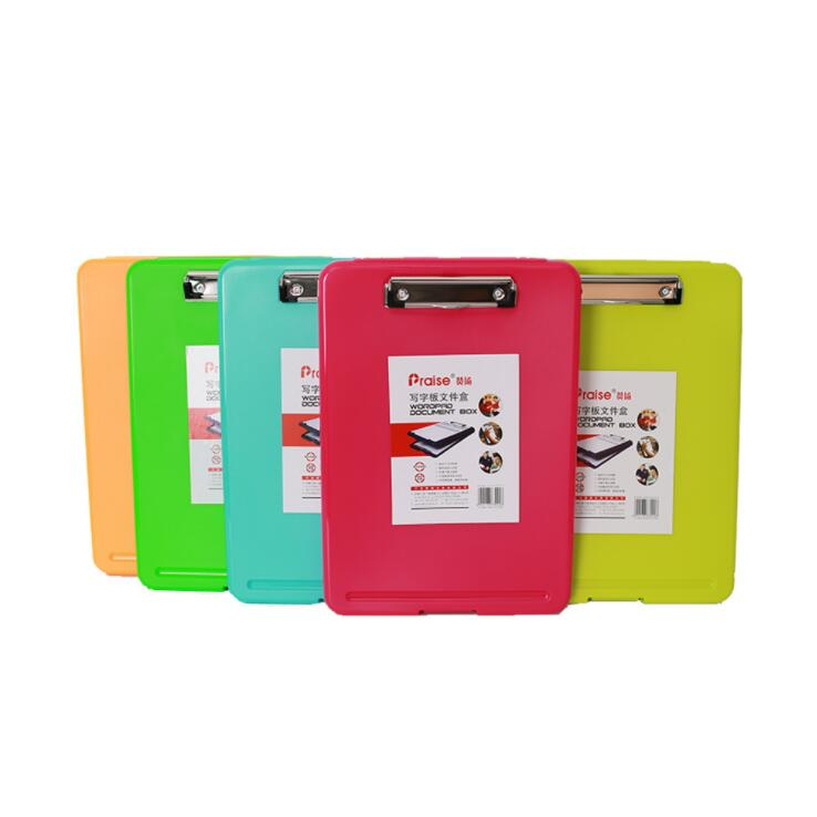 Big Capacity A4 Plastic Business Wordpad File Folder Document Organizer Box Desk Storage Case Office School Stationery