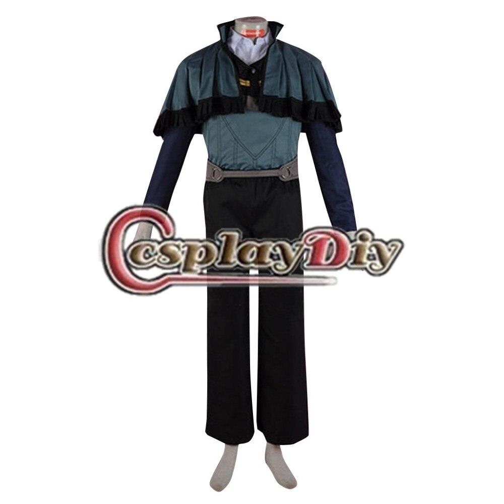 Cosplaydiy Fire Emblem Fates Dwyer Costume Adult Men Halloween Carnival Fire Emblem Cosplay Costume Custom Made