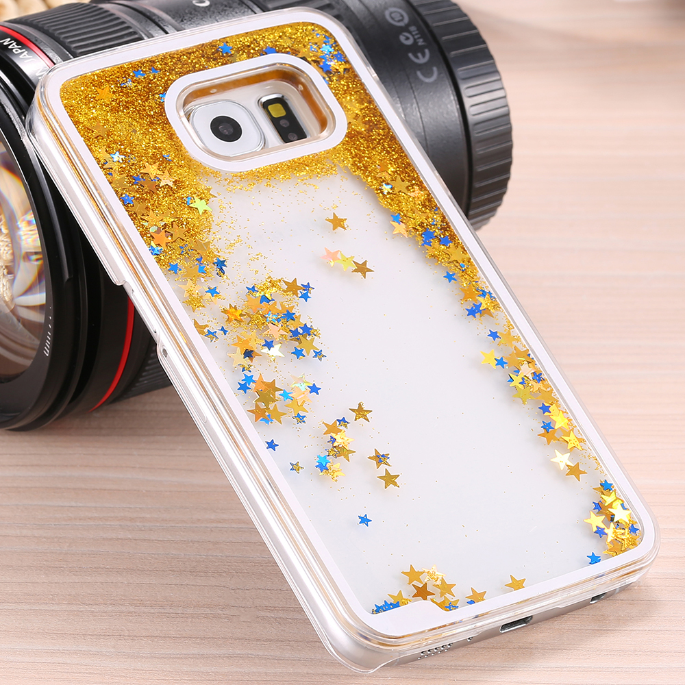 samsung galaxy s6 phone cases for girls. aliexpress.com : buy kisscase s5 s6 note 4 cases glitter star bling case for samsung i9600 clear back cover galaxy quicksand from phone girls