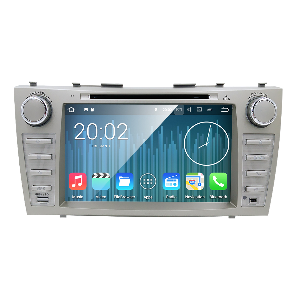 Quad core 1024 600 HD 2din Android7 1 car dvd player For CAMRY2007 11 auto radio