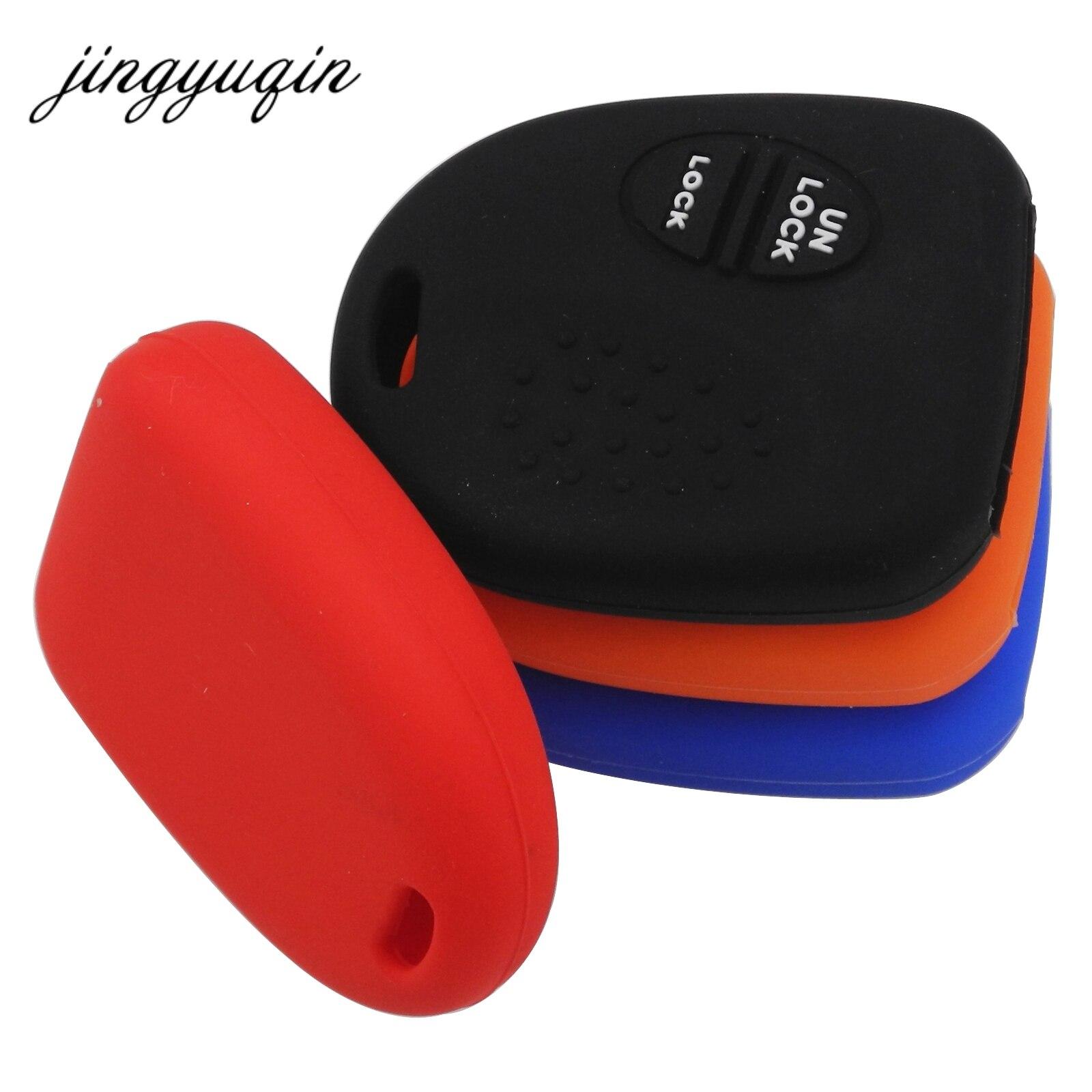 Jingyuqin 30 шт./лот силиконовый чехол ключ автомобиля FOB чехол для Холден Commodore Wh Wk Wl Vs Vt Vx В. Ю. В. З. для Chevrolet удаленный случае ключ