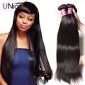 7A Unprocessed Brazilian Virgin Hair Straight 1 Bundle Deals Brazillian Straight Hair 100% Human Hair Weaving UNice Hair Company