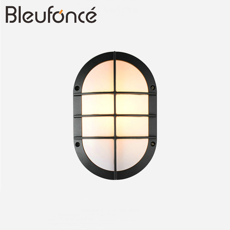 Outdoor Waterproof LED Wall Lamp Modern LED 12W/7W 220V wall Light Lighting Garden Lights Wall Sconce Outdoor Wall Lamp BL65 modern waterproof cube cob led light wall lamp home lighting decoration garden outdoor indoor wall lamp aluminum 6w 12w ac 220v