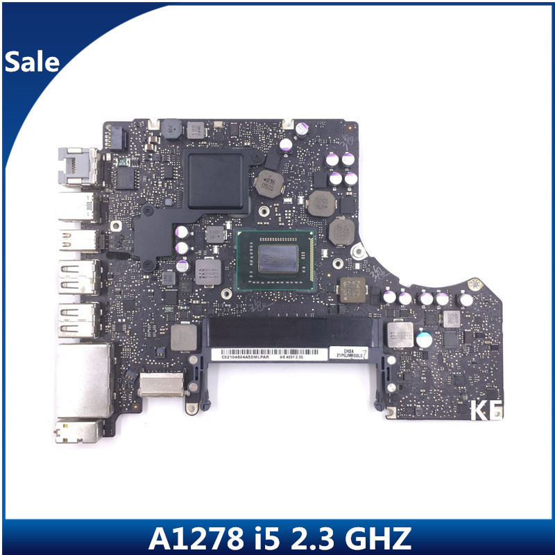 """820-2936-A 820-2936-B i5 2.3GHz Logic Board 13/"""" A1278 2011 Apple MacBook Pro"""