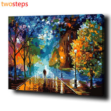 TwoSteps DIY Digital Canvas Oil Painting By Numbers Coloring By Numbers Modern Acrylic Paint By Number Kits Beautiful Life Tree
