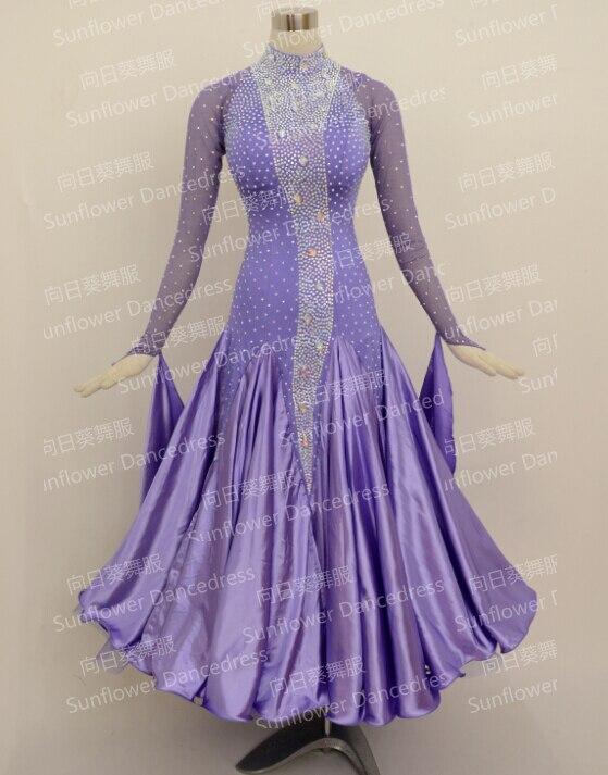 Top Sales New Style!ballroom Standard Dance Dress,Waltz Competition Dress,Women, Ballroom Dance Dress,Sunflower Dance Dress