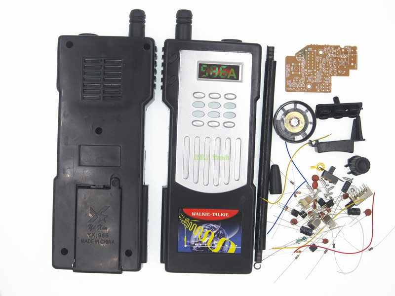 Half duplex intercom intercom kit DIY training kit production of electronic parts