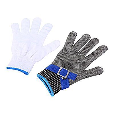 Chain Mail Butcher Stainless Steel Glove 5A Cut Resistant Gloves