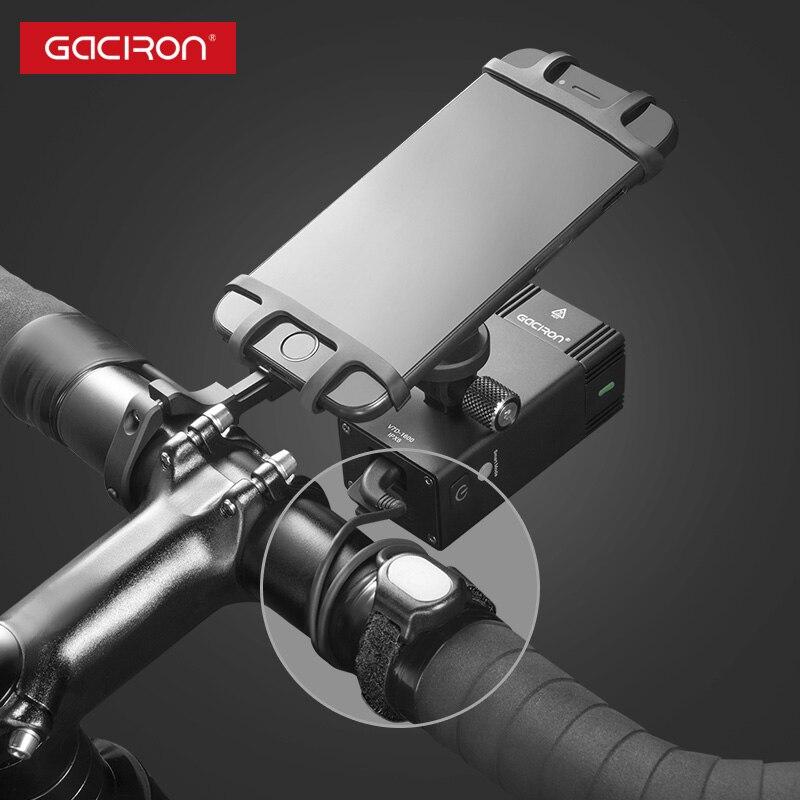 GACIRON 1000, 1600 люмен, велосипедный светильник, велосипедный головной светильник с креплением, водонепроницаемый перезаряжаемый велосипедный светильник для вспышки, аксессуары для гонок - 5