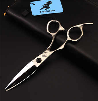 6inch Left Handed Hair Cutting Scissors Shears made of Japanese 440C Steel
